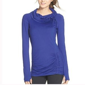 Zella All Out Ruched Pullover Top